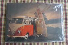 VW Camper Van Metal Sign Painted Poster Garage Superhero Wall Decor Art C*