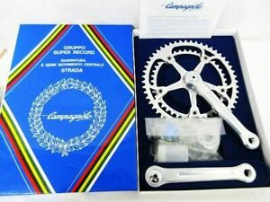 Campagnolo 50th Anniversary Chain Ring & Crank Set 165mm PCD144 52/42T 1980s
