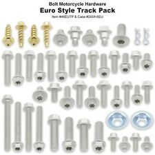 Bolt EURO Moto Cross Track Pack Kit 50 pièces vis KTM Husaberg Husqvarna Gaz gaz