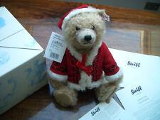 Steiff 034121 Weihnachtsteddyb. 33 Moh. Zim