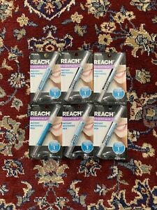 Lot Of 6 Reach Essentials Instant Teeth Whitening Pen Made In USA
