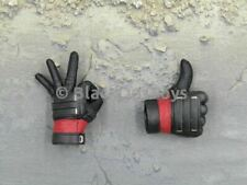 1/6 Scale Toy Hot Toys Deadpool Gloved Expression Hands x2