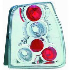 Back Rear Tail Lights Pair Set Clear Chrome For Seat Arosa Typ 6H 97-00