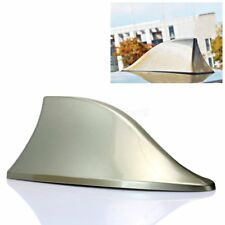 Gold Universal Car Roof Radio AM/FM Signal Shark Fin Decorate Aerial Antenna