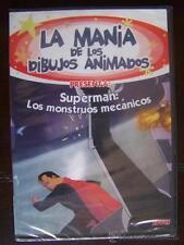 DVD LA MANIA DE LOS DIBUJOS ANIMADOS SUPERMAN LOS MONSTRUOS MECANICOS