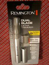 Remington Dual Blade Detail Trimmer - Eyebrows, Nose, Ears, Sideburns Men's Gift