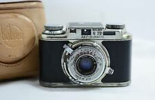 VINTAGE BOLSEY B22 SET-O-MATIC  CAMERA WITH CASE 1953
