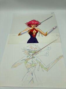 Anime Cel Lot - Cutey Honey + Genocyber / Unknown