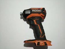 RIDGID R86037 18v 3 SPEED BRUSHLESS IMPACT DRIVER  - TOOL ONLY