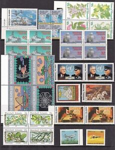 MARSHALL ISL ^^^^^1980's  MNH   collection ( TOPICALS ) @lar1748mars48