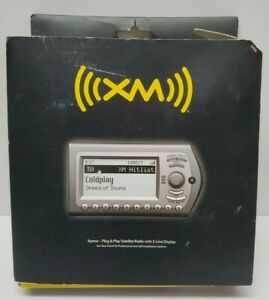 XM Xpress Satellite Radio Audiovox Plug And Play Travel 5 Line Display XMCK-10AP