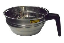 Bunn 202160000 Brew Funnel Stainless Steel Replacement Brewbasket 712 D