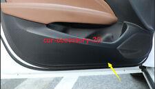 Carbon fiber Inner Door Anti Kick Pad Panel Cover For Buick Regal 2018 2019 2020