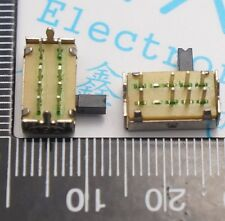 50x SK-23D07 2P3T PCB Panel Side Toggle Switch Slide Power Switch 8 Feet 3 Files