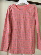 Girls Cherokee Ultimate Tee Salmon Long Sleeve T-Shirt Size L  10-12