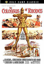 The Colossus of Rhodes (DVD, 2007) Lea Massari, Georges Marchal, Angel Aranda