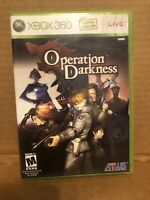 Operation Darkness Xbox 360 Complete
