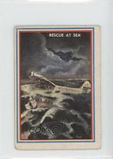 1953 Topps Fighting Marines #33 Rescue At Sea Non-Sports Card 0s4