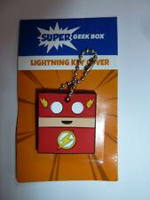 The Flash vinyl key cover keychain fob DC Comics superhero Super Geek Box NEW!