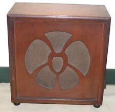 Art Décor Speaker Cabinet  1930's Valve Radio Extension Speaker