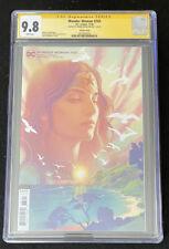 DCC Wonder Woman #763 - CGC 9.8 - signed Joshua Middleton