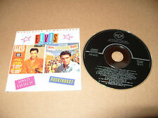 Elvis Presley Double Features Love In Las Vegas & Roustabout 25 track cd 1993
