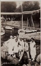#ABBAZIA: FOTOCARTOLINA PRIVATA- 1924