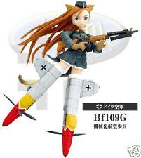 Konami Mecha Musume Military Army Girl repaint 3 ( strike witches ) Bf109G