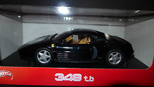 Hot Wheels Ferrari 348 TB 1989 Black 1/18