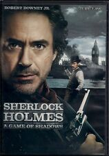 SHERLOCK HOLMES A GAME OF SHADOWS (DVD, 2012) NEW
