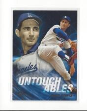 2017 Topps Update Untouchables #U10 Sandy Koufax Dodgers