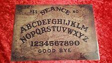 Ouija Board Weeja Halloween oracle goth Bizarre Magic Old Baltic laminated sheet