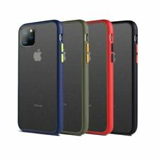 Bumper Anti-Fall Case For Apple 11 X 8 7 6 Se Ultra Thin TPU & PC Cover