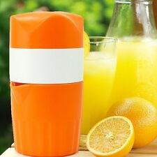 Portable Manual Hand Citrus Juicer Orange Juice Lemon Fruit Squeezer Extractor