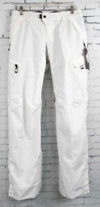 New 2019 686 Womens GLCR Geode Thermograph Snowboard Pants Small White