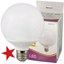 OFFERTA LAMPADINA LAMPADA LED 18W-22W-24W-30Watt E27 LM GLOBO SFERA OPACA DRIWEI