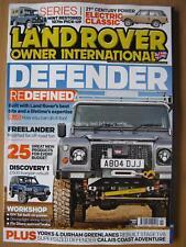 Land Rover Owner International February 2018 Defender Freelander Series I Range