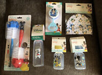 Disney Mickey Mouse Baby Bottle Brush, Bottles, Rattle,infant Cap