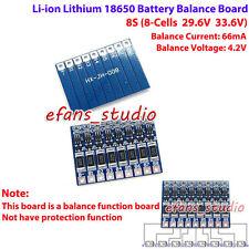 PCB Board 8s 29.6v 33.6v Li-ion litio 18650 3.7v Battery full Charger balance
