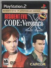 Video Game - SONY PLAYSTATION 2 - RESIDENT EVIL CODE:VERONICA X - Complete