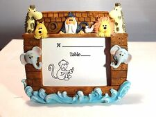 Noah and Friends Collection Place Card Picture Frame Great Baby Gift Idea A