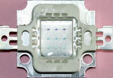 10 W LED, COB, UV, 395-410nm, 45x45, MIL LUCE NERA, ACQUARIO, con lubrificante.