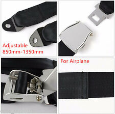 Adjustable 850mm-1350mm Airplane Safe Belt Plane Seatbelt Extenders Seat Belts