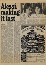 Alessie Brothers making it last Interview/article 1977