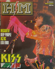 HM 49 1988 Kiss Megadeth Deep Purple Lita Ford AC/DC Grip James Young Alex Masi