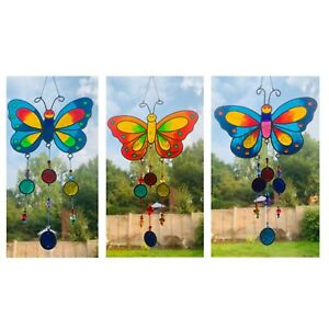 Butterfly Suncatcher with Nuggets Fair Trade
