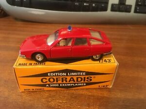 Solido Cofradis 0001 1/43 Scale Citroen CX Pompiers - Boxed