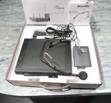 the t.bone TWS Headset 863 MHzmit AKG C 555 L Kondensator Nackenbügel-Mikrofon