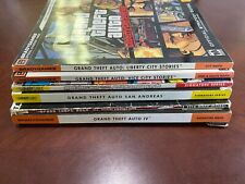 LOT 6 Grand Theft Auto Strategy Guides Brady Games Liberty Vice San Andreas