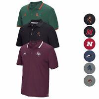 NCAA Sideline Climalite Coaches Coordinator Performance Polo Shirt ADIDAS Men's